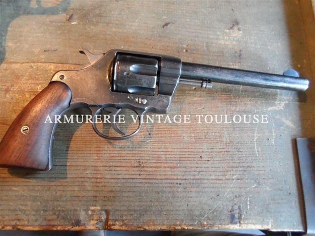 Revolver réglementaire Colt 1896 U.S. ARMY MODEL calibre 38 Colt
