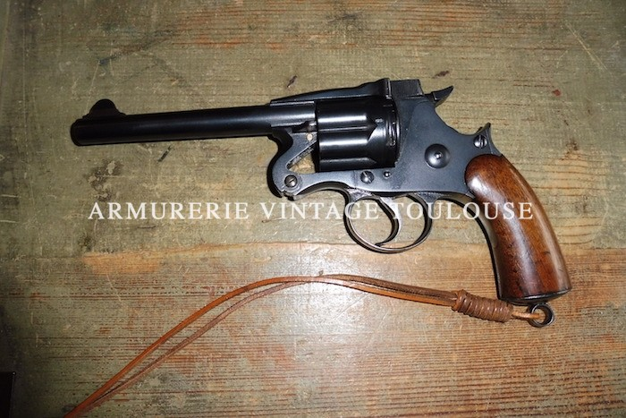 Rare revolver réglementaire Britannique Enfield MK II calibre 476 à brisure fabrication de 1884.
