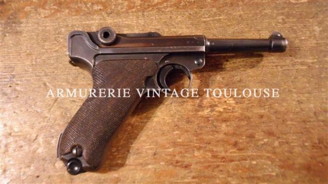 Superbe P08 fabrication Mauser en 1939