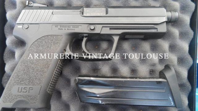 Pistolet HK USP TACTICAL calibre 45 auto