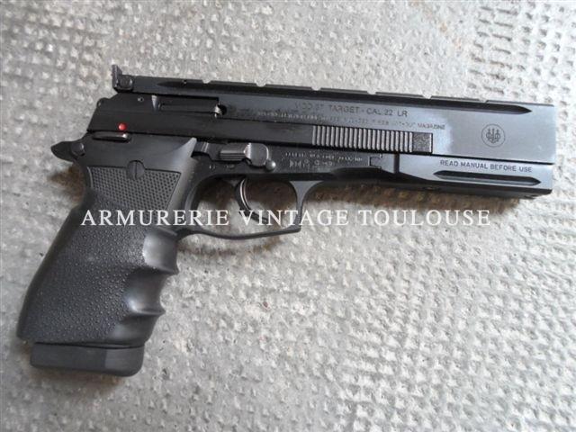 Pistolet Beretta 87 Target calibre 22LR