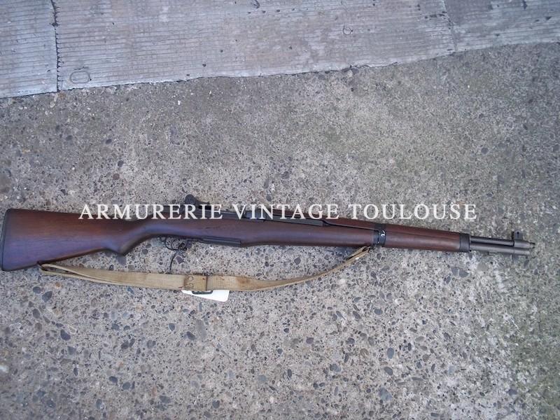 Fusil semi automatique Garand M1 fabrication Springfield Armory nr 1370879