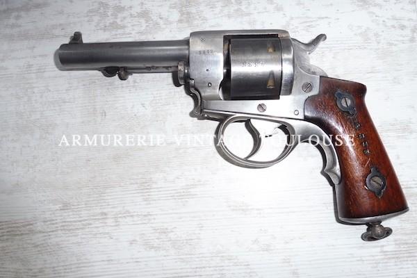 """Rare revolver réglementaire Français de marine calibre 11 mm modèle 1870 """"N"""""""