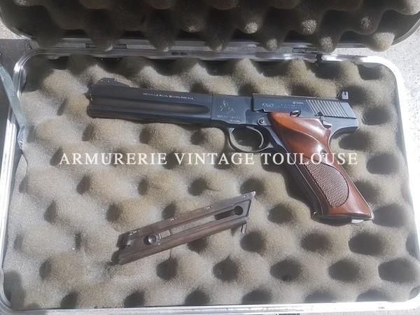 Splendide Colt Woodsman Match target calibre 22 LR (Fabriqué entre 1955 et 1977)