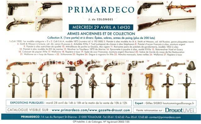 Grande vente de prestige chez PRIMARDECO