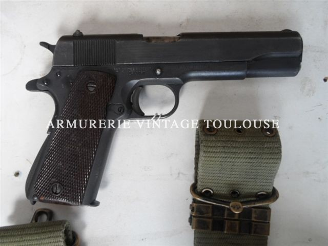 Pistolet 1911 A1 fabrication Remington en 1945