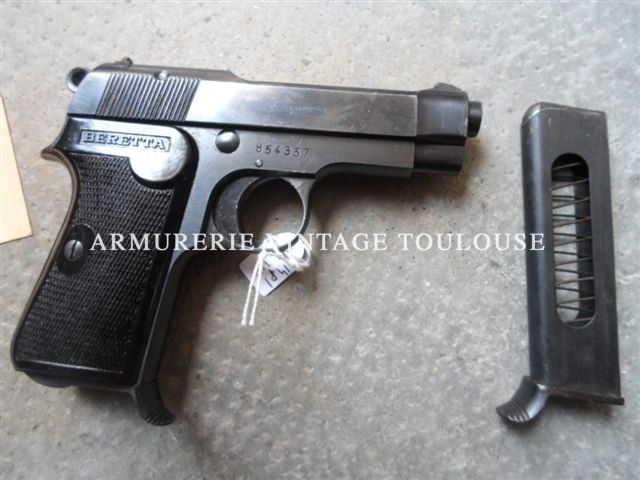 Pistolet Beretta modèle 35 calibre 32ACP dans sa boite d'origine!!