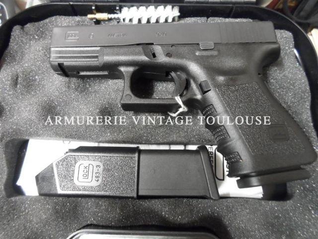 Glock 19 calibre 9×19 occasion superbe