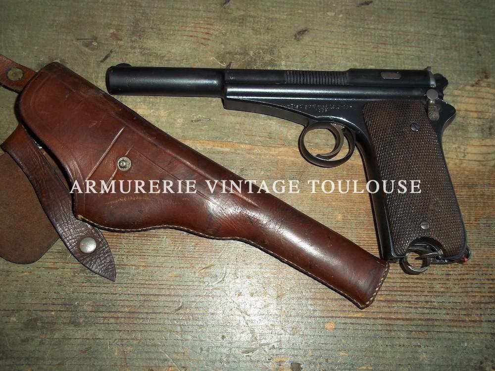 Rare pistolet semi -automatique Espagnol Campo-Giro modèle 1913/16 calibre 9X23 campo-giro.