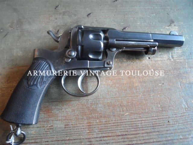 """Révolver """"Fagnus"""" (Maquaire) calibre 11 mm 1873"""