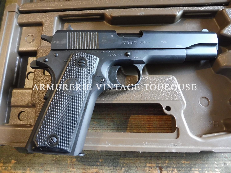 Pistolet Colt 1911 A 1 série 80 calibre 45 A.C.P