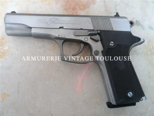 Rare pistolet Colt Double Eagle série 90 calibre 45 ACP