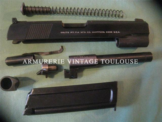 Rare conversion Colt ACE calibre 22lr