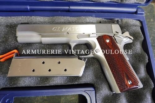 Colt 1911 inox calibre 45 ACP