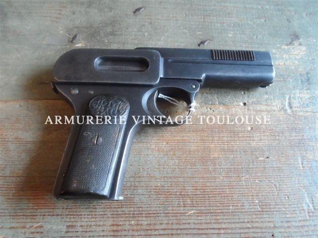 """Pistolet Dreyse 1907 calibre 7,65 catégorie """"B1"""""""