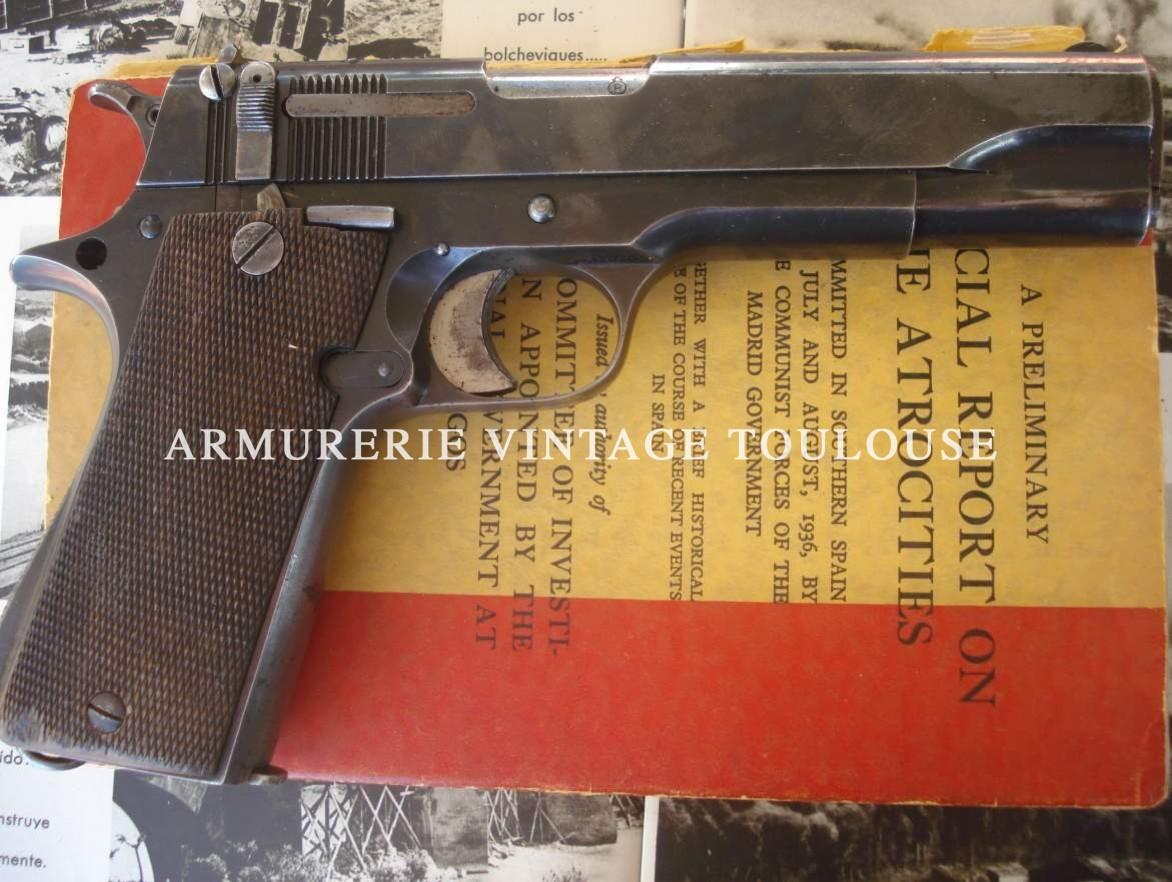 Réflexion sur quelques armes de poing Espagnoles de la guerre civile! (1936/1939)