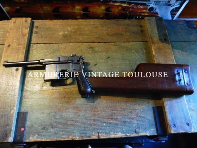 Rare pistolet Mauser C 96 calibre 7,63