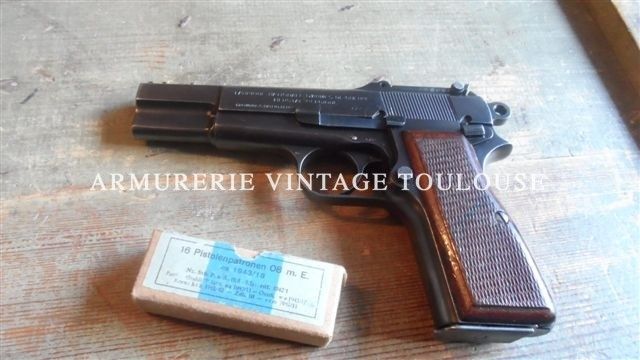 Pistolet Browning GP 35 militaire