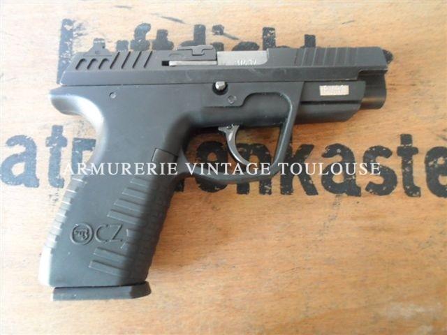 PISTOLET CZ100 DAO, calibre 9X19