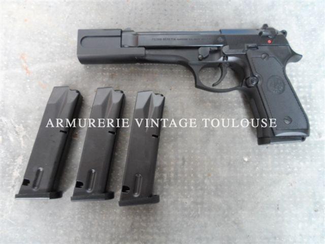 Beretta 92fs calibre 9×19