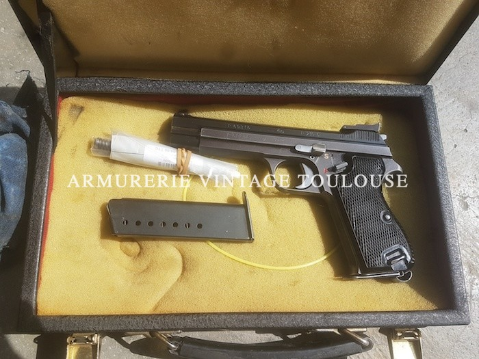 Superbe pistolet Suisse SIG P 210/6