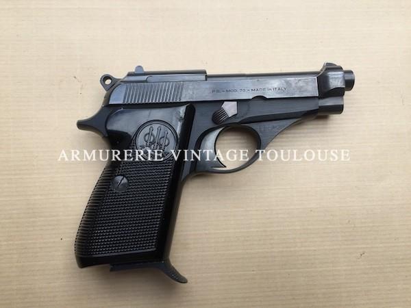 Joli petit pistolet Beretta 70 calibre 7,65, arme