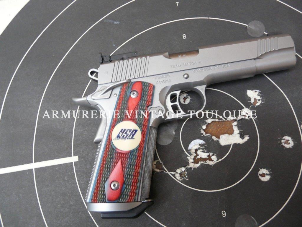 Pistolet Kimber Team Match II calibre 45 ACP