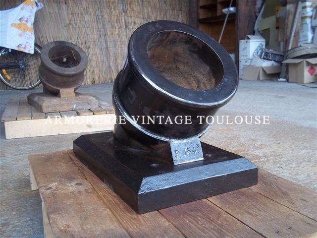 Exceptionnel mortier éprouvette à poudre modèle 1839