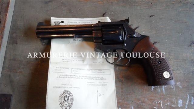 Manurhin MR 73 canon de 5 pouces neutralisé