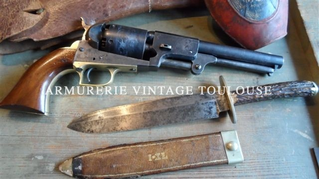 Rarissime Colt Dragoon premier modèle- Ultra rare Colt Dragoon first pattern revolver