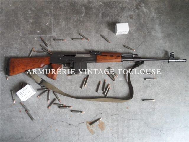 Fusil semi-automatique Zastava M76 calibre 8X57JS