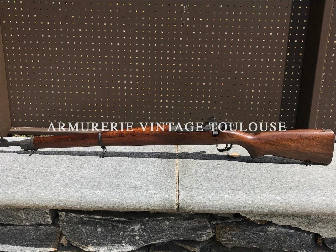 Remington 1903 A 3 Production Août 1944 Canon d'origine à 2 rayures état neuf jaugé 7.61