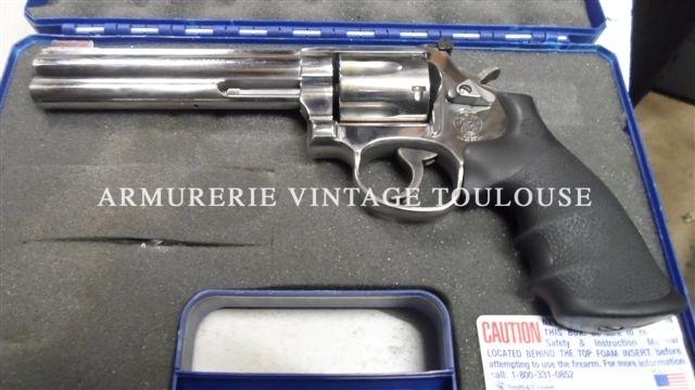 Révolver Smith & Wesson 686/5 canon 6 pouces comme neuf
