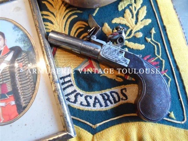 Pistolet de gousset par Nicolas-Noël Boutet (1761/1833)
