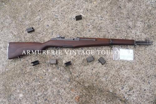 """Somptueux Garand M1 calibre 30/06 monté avec un canon neuf """"CRITERIUM"""""""
