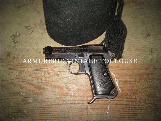 Pistolet Beretta modèle 1935 calibre 7,65