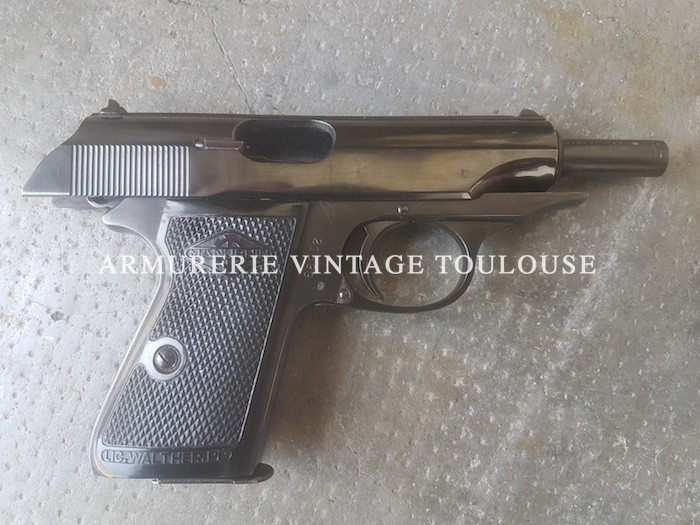 Pistolet calibre 7,65 (32 A.C.P.) Walther Manurhin