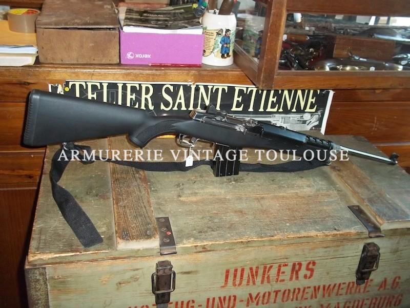 Carabine Ruger Ranch calibre 222 Remington chargeur grande capacité