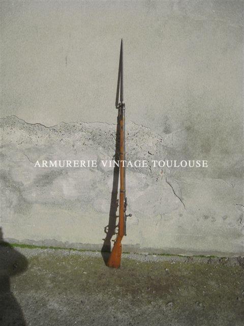 Fusil Prussien Dreyse calibre 13mm modèle 1862