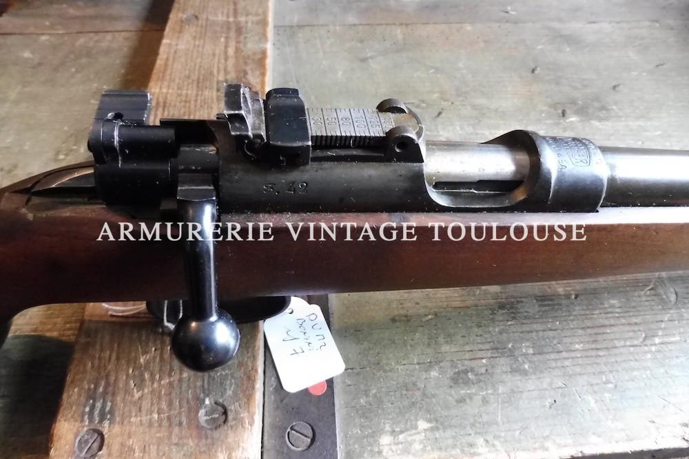 Belle carabine MAS 45 A issue de l'usine Mauser (Mauser 45)