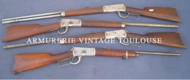 Lot de diverses Winchester d'époque type 1892 et 1994 !!