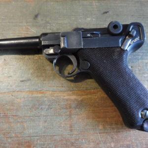 Rarissime pistolet P08 contrat Bulgare de 1911