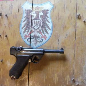 Joli P 08 DWM 1914 mono matricule