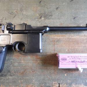 Rarissime pistolet Mauser C 96