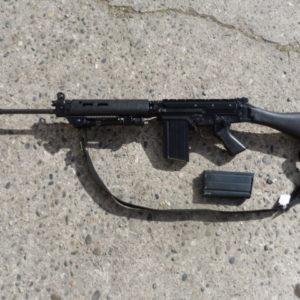 Superbe fusil d'Assaut Fal L1A1 calibre 243 Winchester