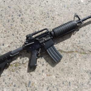 AR 15 calibre 223 Remington fabrication Oberland