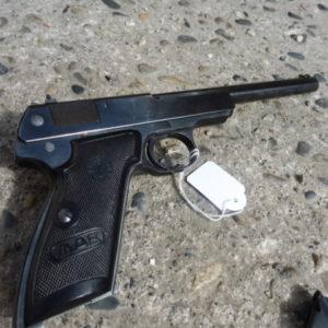 Pistolet Français utilisable pour le tir de précision en calibre 22LR
