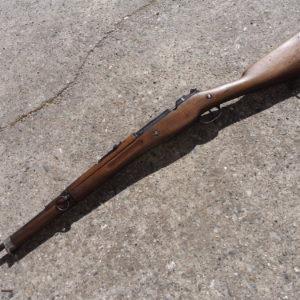 Splendide et rare fusil réglementaire français MAS 34 calibre 7,5 MAS