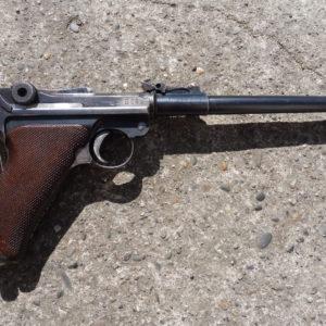 RARE PISTOLET P08 LP Artillerie calibre 9 x 19