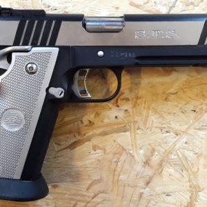 pistolet SPS enduro black chrome en calibre 9mm